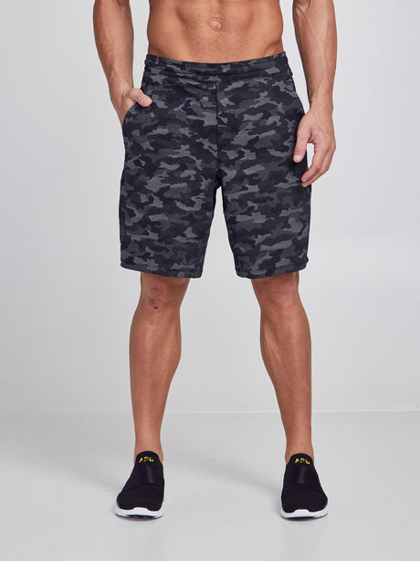 """Pace Breaker Lined Shorts 9"""", Variegated Mesh Camo Black, large image number 0"""