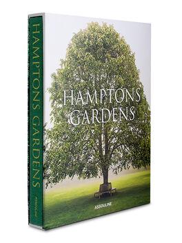 Hampton's Gardens Hardcover Book, Green, large