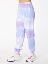 Tie-Dye Stevie Sweatpant Ice/Lavender, BLUE/PURPLE, large