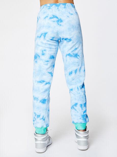 Aloha Tie-Dye Sweatpant Blue, Blue Tied, large image number 3