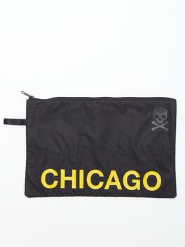 Chicago Reusable Sweat Bag, Black, large