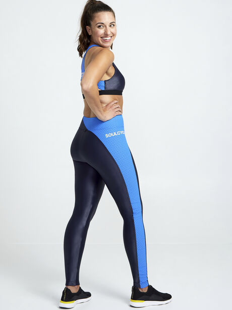 Chase High-Rise Infinity Leggings, Navy, large image number 1
