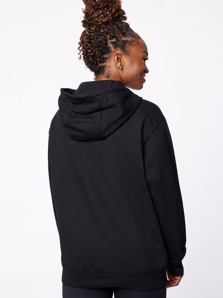 New York Kingsley Hoodie Black, Black, large image number 3