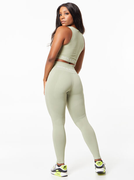 One By One High-Rise Legging Eco Green, Green, large image number 3