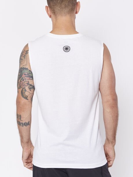 Unisex Meet Me Call Letter Tank, , large image number 1