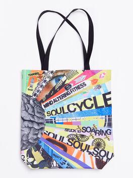 Mind Altering Fitness Tote Bag, Multi Color, large