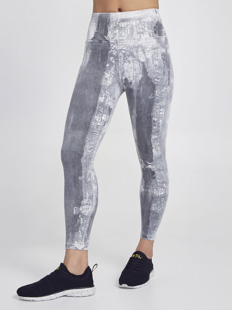 Crackle 7/8 Legging, Granite, large image number 0