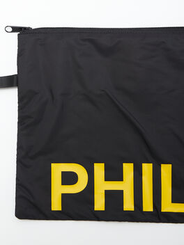Philly Reusable Sweat Bag, Black, large