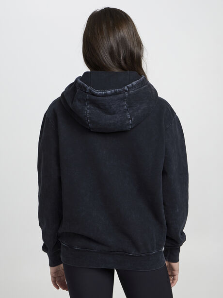 Kingsley Tonal Hoodie, Black, large image number 3