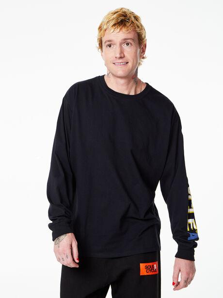 Brady Long Sleeve Black, Black, large image number 2
