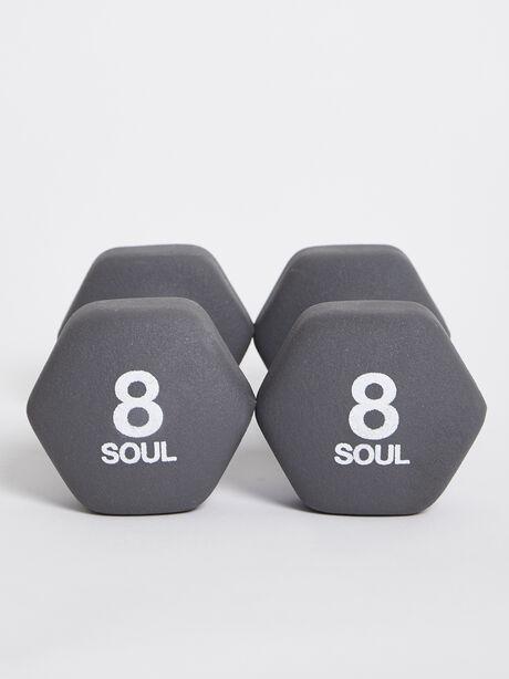 8 lb Weight Set, Grey, large image number 2