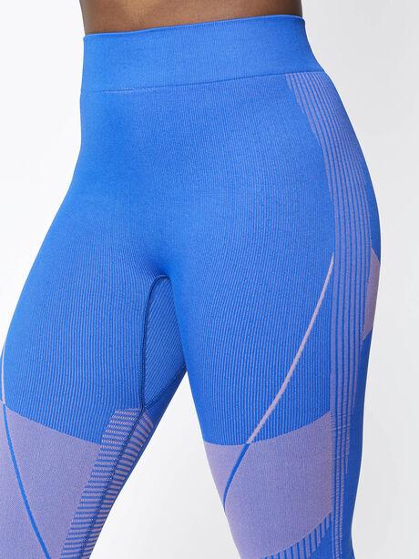 Seamless Contour Legging, Blue, large image number 2