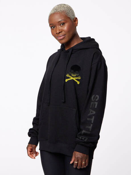 Seattle Kingsley Hoodie Black, Black, large image number 1
