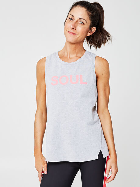 Region Tank Top, Heather Grey, large image number 0