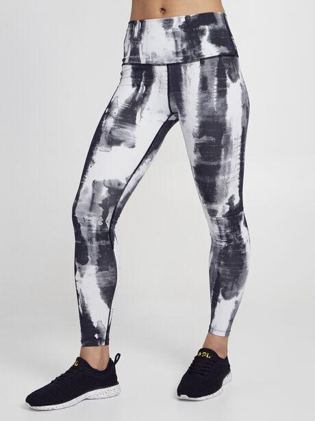 Luna Legging, Black/White, large image number 0