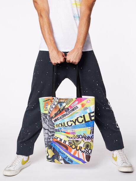 Mind Altering Fitness Tote Bag, Multi Color, large image number 4