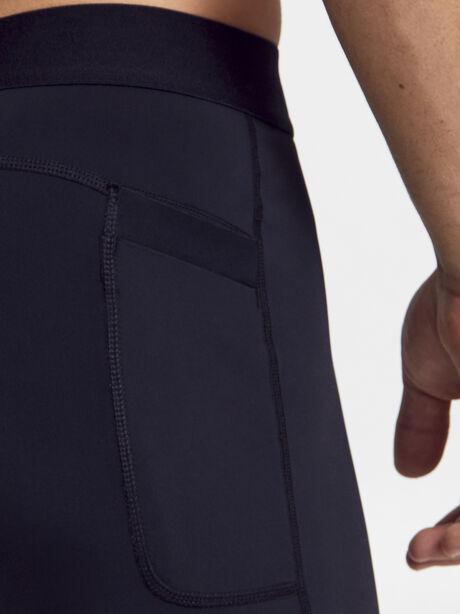 3/4 Compression Pant, Black, large image number 2