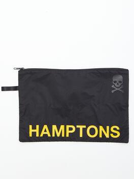 Hamptons Reusable Sweat Bag, Black, large