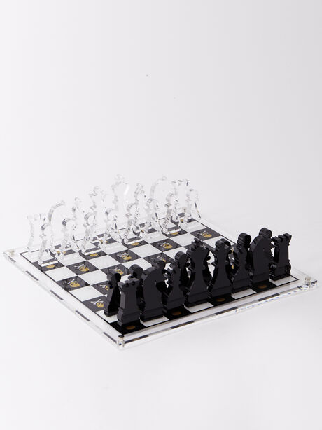 Exclusive Chess Set, White/Yellow, large image number 0