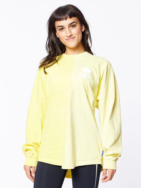 Exclusive Vertical Fade Dip Dye Spirit Jersey Yellow, Yellow, large image number 0