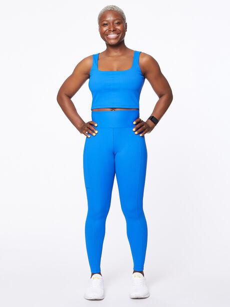 Ribbed Active Cami Blue, Blue, large image number 3