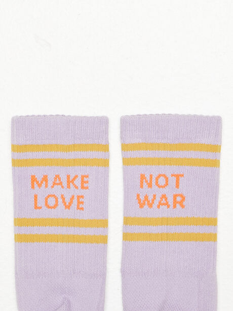 Baby Steps Mid Calf Socks Purple, Purple, large image number 1