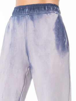 Oversized Brooklyn Sweatpant Navy Mix, Navy, large