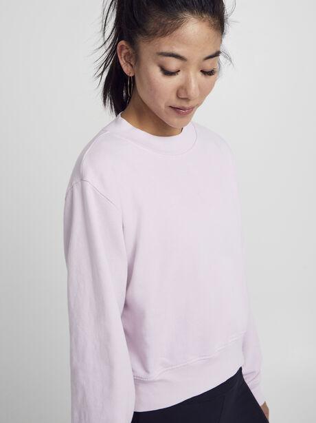 Solid Cropped Milan, Pink, large image number 2