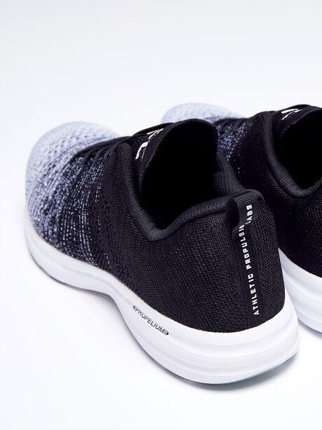 Techloom Pro Men's Sneaker, Black/Heather Grey, large image number 3