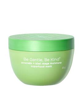 Be Gentle, Be Kind Avocado + Kiwi Mega Moisture Superfood Hair Mask, Clear, large