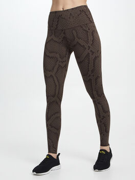 Marina Legging Bracken Snake, Natural/Black, large