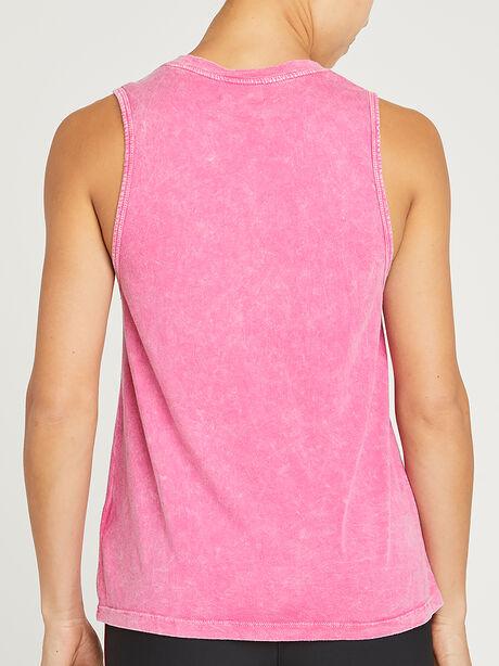 WASHED DRIFTER SOUL TANK, Pink, large image number 1