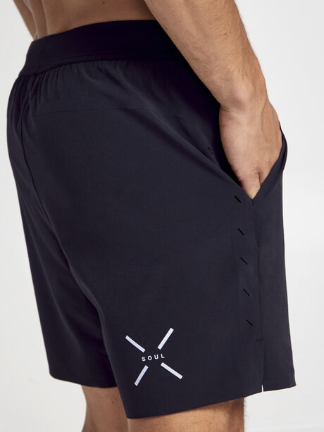 "7"" Interval Short, Black, large image number 1"
