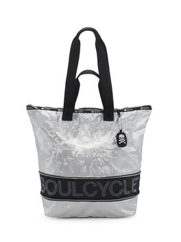 Medium Expandable Tote, Silver Camo, large