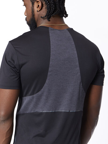 Fast and Free Short Sleeve Black, Black, large image number 3