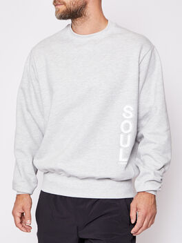 Derek London Sweatshirt, Heather Grey, large
