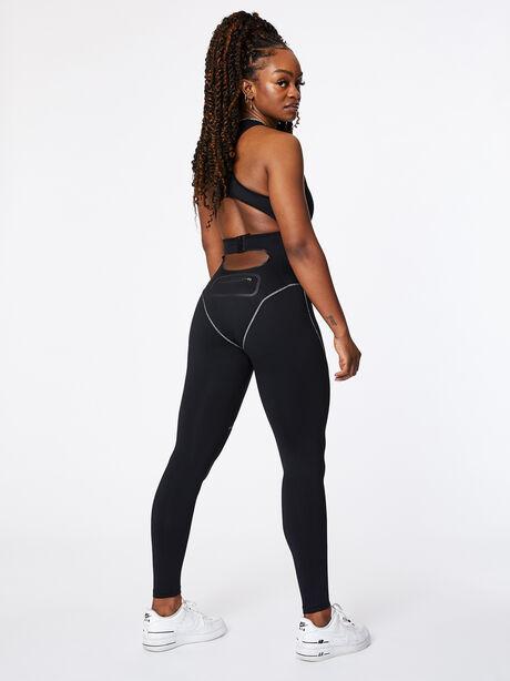 Contour Jumpsuit Black, Black, large image number 3