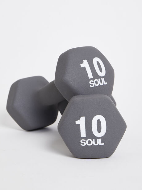 10 lb Weight Set, Grey, large image number 0