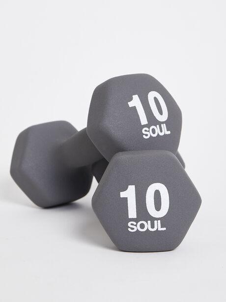 10 lb Weight Set, Grey, large image number 0