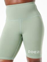 Tulia Mocha Biker Shorts Green, Green, large