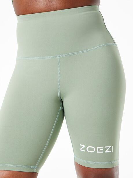 Tulia Mocha Biker Shorts Green, Green, large image number 0