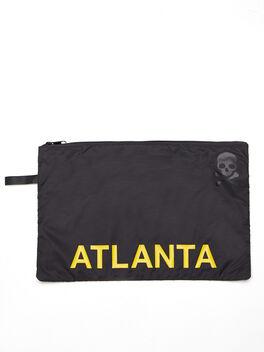 Atlanta Reusable Sweat Bag, Black, large