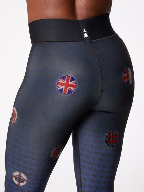 Ultra High-Rise London Legging Black, Black/Navy, large image number 4