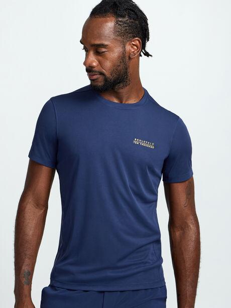 Distance Shirt, Navy, large image number 0