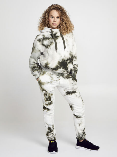 Army/White Lisette Hoodie, Green Ombre, large image number 3