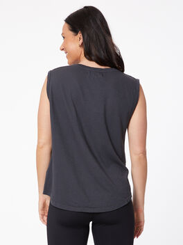 Muscle Tank, Old Black, large