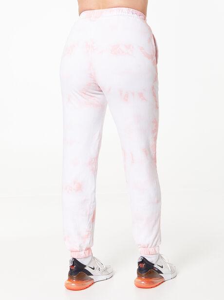 Sunday Sweat Jogger Rose Cloud, White/Pink, large image number 3
