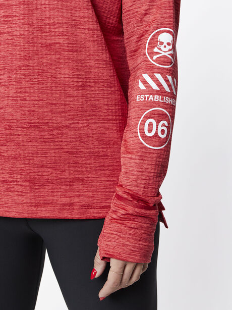 Therma Sphere Element Half Zip, Tough Red/Htr/Lt Fusion Red, large image number 1