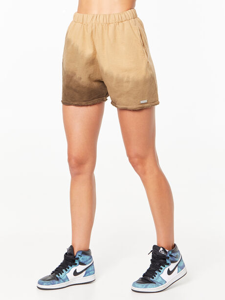 Zee Sweat Short Green Wash, Fatigue Green, large image number 1