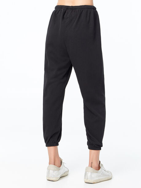Large Sweatpant Blackspace, Black, large image number 2